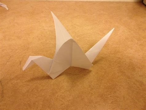 How To Make Paper Swan With Flapping Wings - origami flapping swan