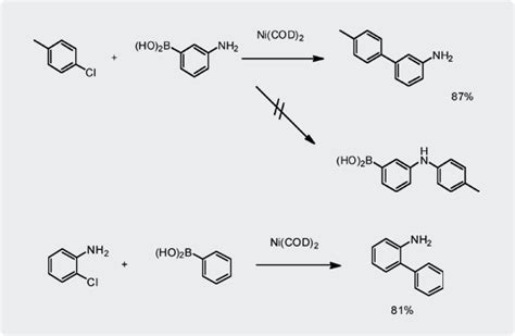 Suzuki Miyaura Coupling Reaction 2 Ni Catalyzed Suzuki Miyaura Coupling Technology