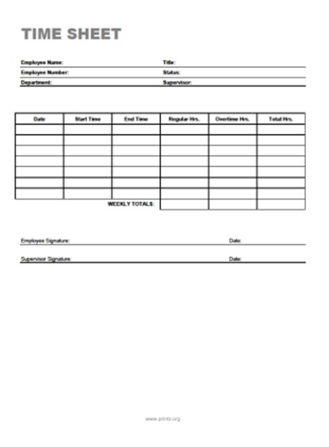 free printable time off sheets bi weekly time sheet