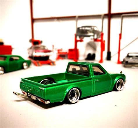 Hotwheels Datsun 1uzshoob mint custom datsun 620 1 custom wheels
