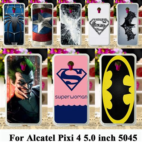 Soft Samsung J1 Captain America soft tpu cases for alcatel onetouch pixi 4 5 0 inch ot 5045 5045d one touch pixi4 5 cases