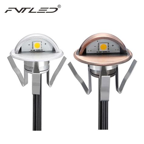Underground Lighting Fixtures 6pcs Lot Half Moon Modern Wall Light Fixtures 0 6w 12v Led Light Recessed Step Wall Ip65 Mini