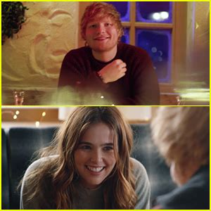 ed sheeran perfect zoey deutch ed sheeran debuts perfect music video starring zoey