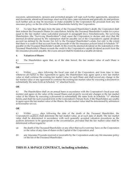 shareholder buyout agreement template shareholder buy sell agreement template how to