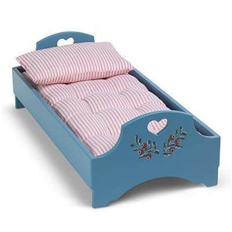 robins bed and mattress american girl doll kirsten kirsten s blue wooden bed and mattress