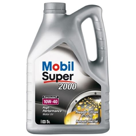 mobil 1 10w40 mobil 2000 formula p 10w40 5l aceiteparamimotor