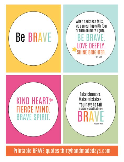 printable cancer quotes printable brave quotes
