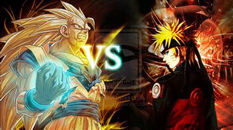 imagenes de goku naruto anime debate images goku vs naruto hd wallpaper and