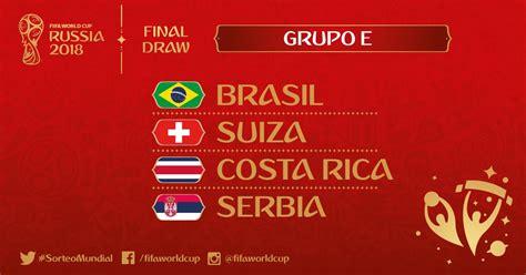 grupo brasil mundial 2018 mundial rusia 2018 grupo e steemkr
