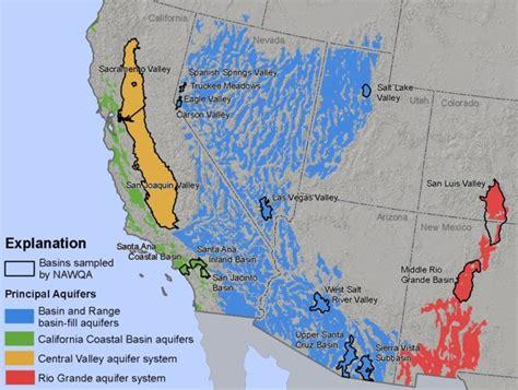 united states aquifer map usgs nawqa regional assessments of principal aquifers