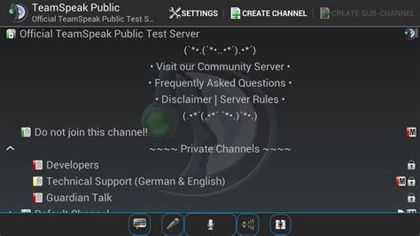 ts3 apk free teamspeak 3 applications android sur play