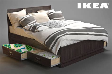 fjell bed 3ds ikea bed fjell