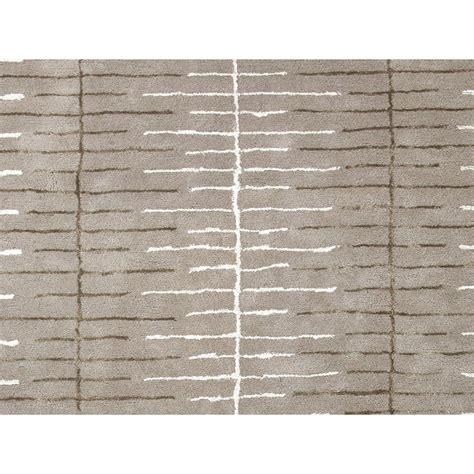 Modern Trellis Rug Watten Modern Linear Trellis Grey Wool Rug 9 6x13 6 Kathy Kuo Home