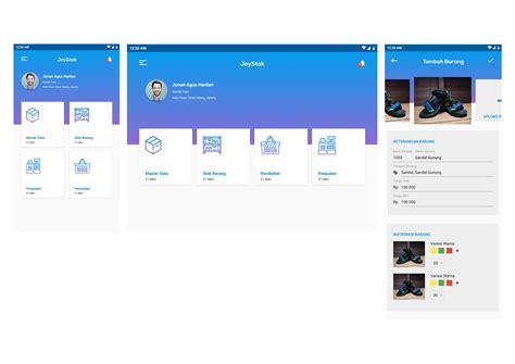 layout aplikasi mobile gallery desain mobile aplikasi untuk joystok
