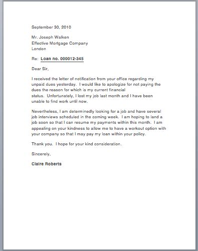 Hardship Letter Unemployed unique how to write a hardship letter how to format a