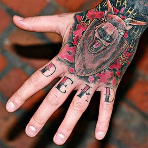 knuckle up tattoo 90 imaginative finger tattoos for the unashamed
