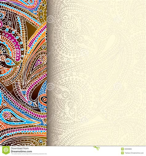 backdrop border design decorative border background stock vector image 33595805