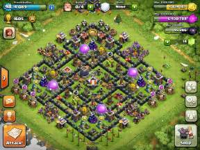Clash of clans best of the best town hall level 9 map
