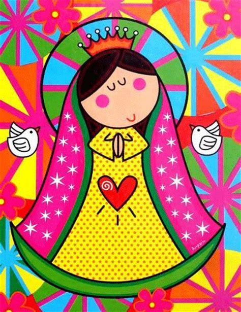 imagen virgen guadalupe infantil virgen maria para imprimir
