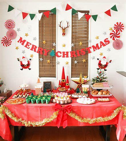 decoracion de mesa de navidad sencilla mesa de dulces sencilla de navidad