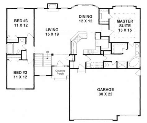 split ranch floor plans plan 1602 3 split bedroom ranch w walk in pantry walk in closets mud room and 3 car garage