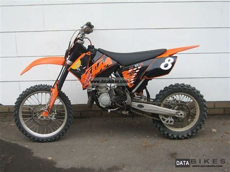 Ktm Cros 2007 Ktm Sx 85 Small Wheel 14 17