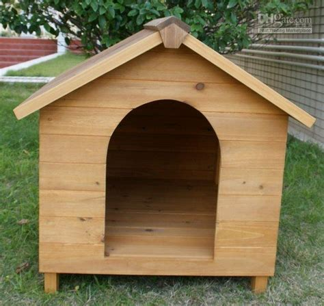 to be in the dog house wood dog house pictures