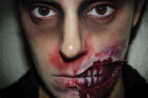 zombie fx tutorial halloween make up 5 zombie fx special effects silvia quir 243 s
