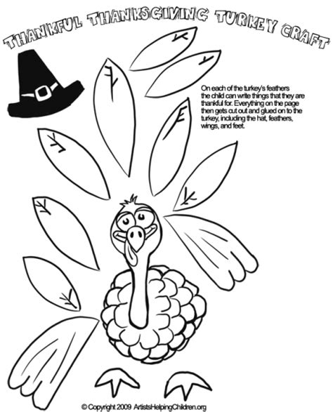 printable turkey headband 6 best images of printable preschool thanksgiving crafts