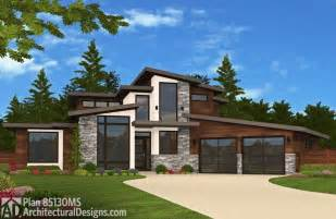 Modern plans modern house plans feature lots of glass steel and