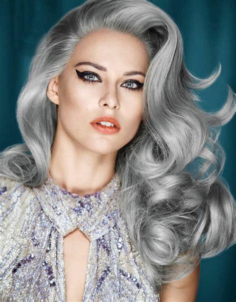trend haare graue haare sind das neue blond
