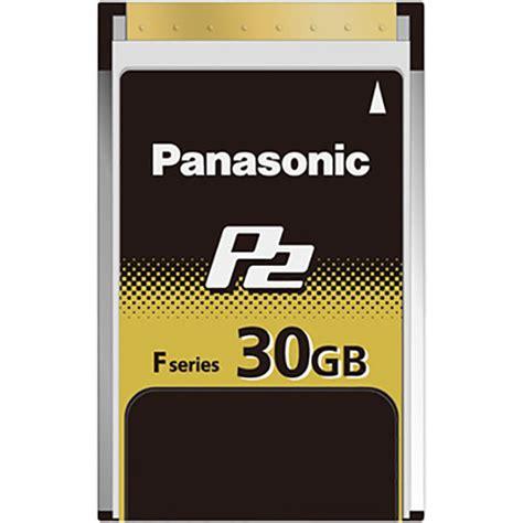 p2 panasonic panasonic 30gb f series p2 memory card aj p2e030fg b h photo