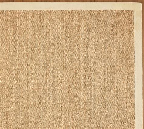 seagrass rugs color bound seagrass rug pottery barn