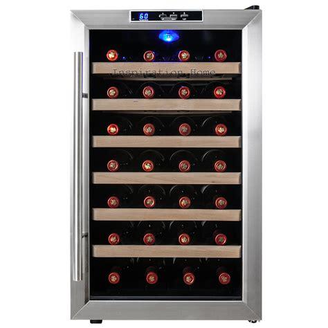 wine refrigerator 28 bottle chiller wine cooler cellar refrigerator
