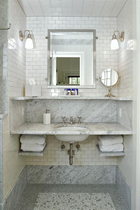 Marble Shelf Bathroom by 25 Lastest Marble Bathroom Shelves Eyagci