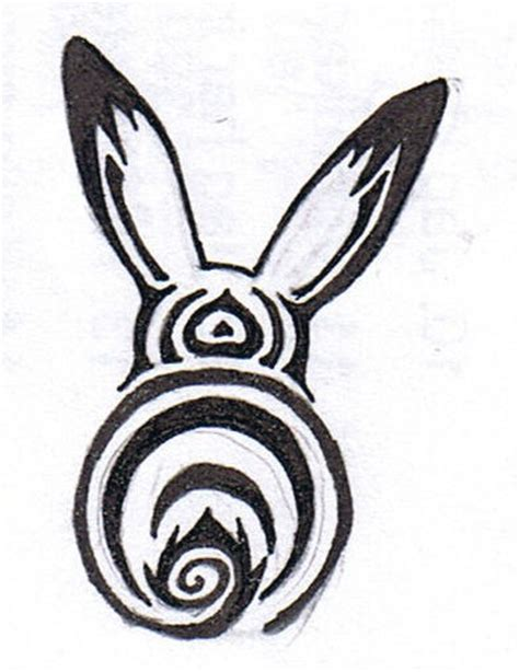 rabbit tribal tattoo designs bunny images