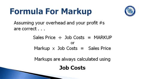 using markup to calculate your sales price