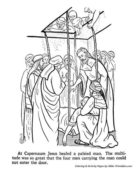 coloring pages jesus teaching jesus preaching