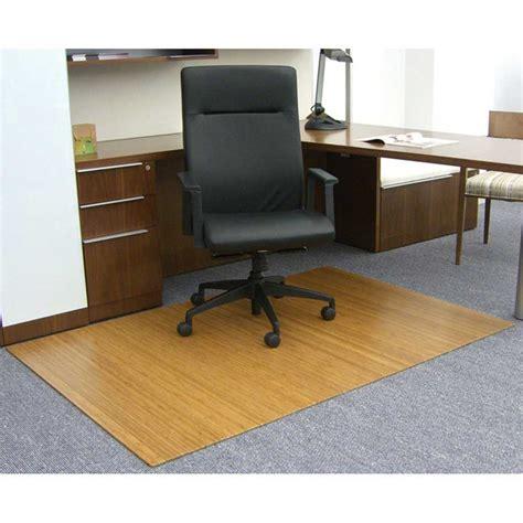 Bamboo Desk Chair Floor Mat by 48 X 72 Bamboo Roll Up Chair Mat In Chair Mats