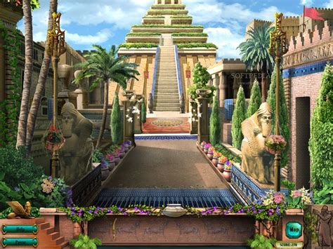 600 Square Feet hanging gardens of babylon the seven wonders of the