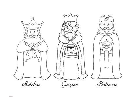 imagenes reyes magos niños dibujos de los reyes magos para colorear
