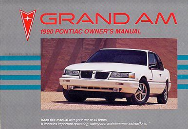 automotive repair manual 1990 pontiac grand am parking system search