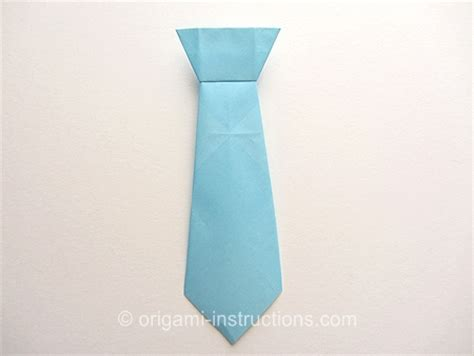 How To Make A Paper Shirt And Tie Card - origami tie made it out of a dollar bill to match the