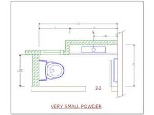 Small Powder Room Design Layout Very Small Powder