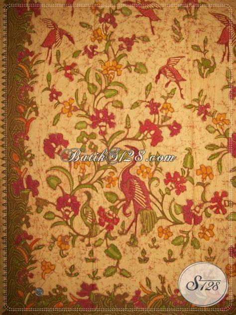 Batik Kesik Soga kain batik tulis elegan dan mewah batik tulis halus berkwalitas dengan warna soga genes k885t
