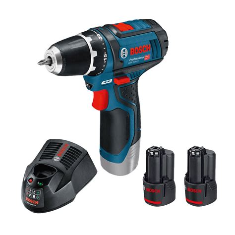 Bosch Battery 10 8 Li Ion bosch gsr 10 8 2 li drill driver inc 2x 2 0ah batteries