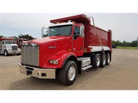 2010 kenworth trucks for sale 2010 kenworth t800 dump trucks for sale 18 used trucks