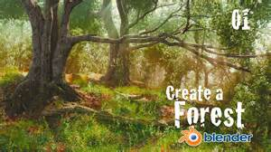 template forrest how to create a forest in blender custom trees 1 of 6