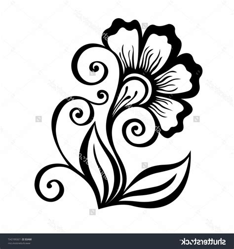 design flower pencil photos flower design drawings drawing art gallery