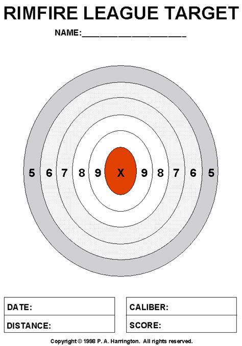 printable paper targets targets for shooting printable search results calendar